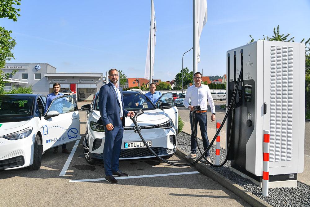 Autohaus Schwehr Krumbach Elektroladestation
